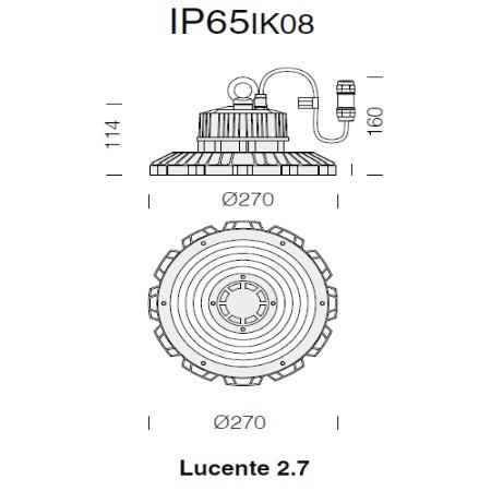 Fos Nova - Lucente 2,7 3700 100W -4K - 2237003000