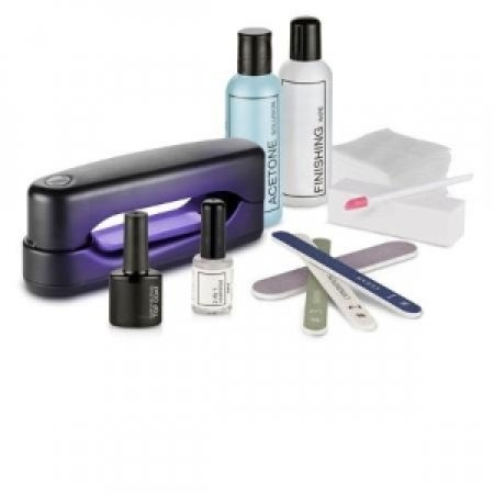 MACOM Kit Semipermanent gel con lampada UV compatta KIT