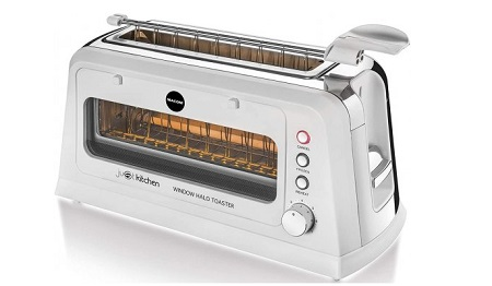 Macom - Tostapane con sportello apribile Window Halo Toaster