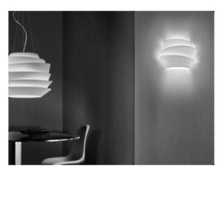 Foscarini Lampada da parete - Le Soleil Parete Bianco