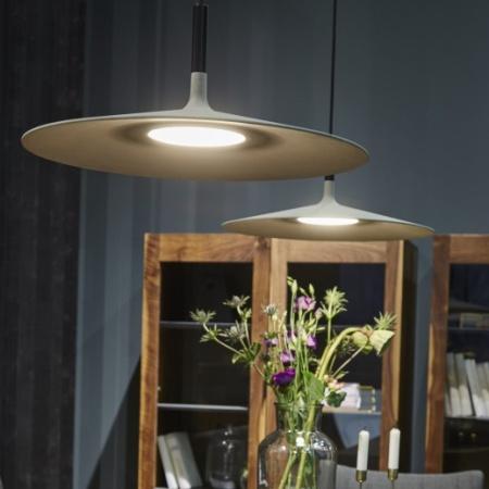 Foscarini Lampada a sospensione - APLOMB LARGE SO D.45 LED GRIGIO 19501725
