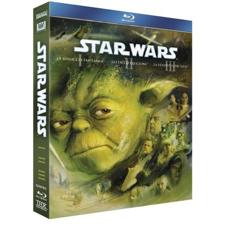 20th Century Fox-Blu-Ray Disc Star Wars Prequel Trilogy Ep.1-2-3