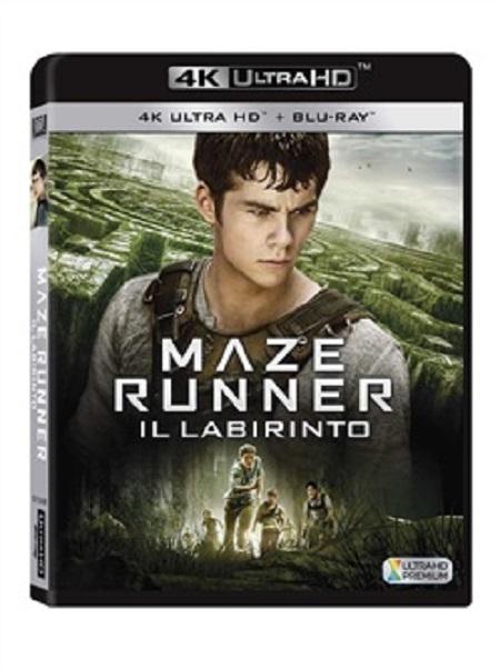 DVD ULTRA HD MAZE RUNNER-IL LABIRINTO