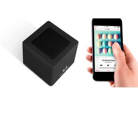 Fresh'n'Rebel Speaker Bluetooth portatile - Rockbox Cube Black