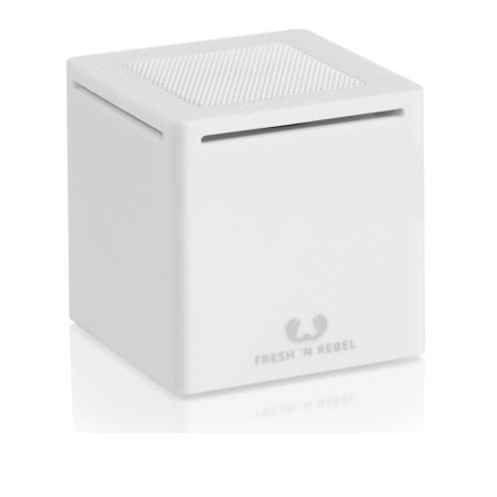 Fresh'n'Rebel Speaker Bluetooth portatile - Rockbox Cube White