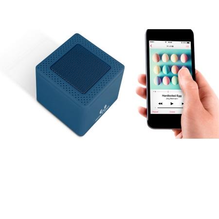 Fresh'n'Rebel Speaker Bluetooth portatile - Rockbox Cube Indigo