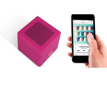 Fresh'n'Rebel Speaker Bluetooth portatile - Rockbox Cube Wildberry