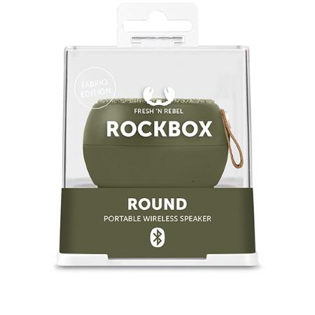 Fresh'n'Rebel Speaker Bluetooth portatile - Round H2O Fabriq Edition Army