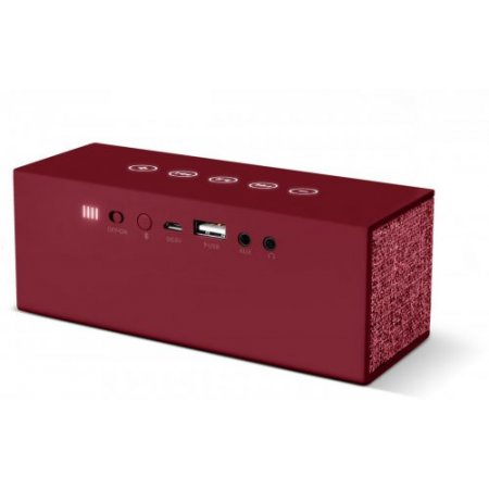 Fresh'n Rebel Speaker portatile 1 via - Rockbox Brick 1rb3000ru Rosso