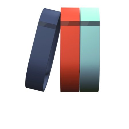 Fitbit Set di 3 braccialetti regolabili - Flex Set Small Fb401btnts-eu