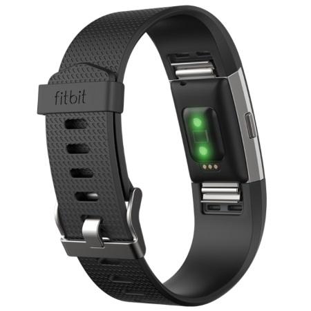 Fitbit Braccialetto per il fitness - CHARGE 2 NERO L