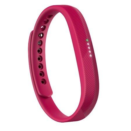 Fitbit Braccialetto per il fitness ultrasottile - Flex 2 Magenta Fb403mg