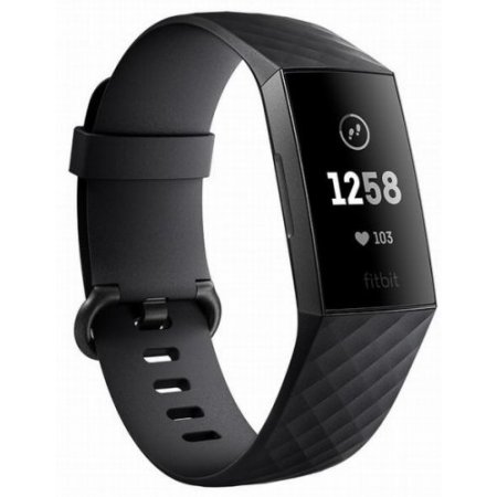 Fitbit - Charge 3 Fb409gmbk-eu Nero