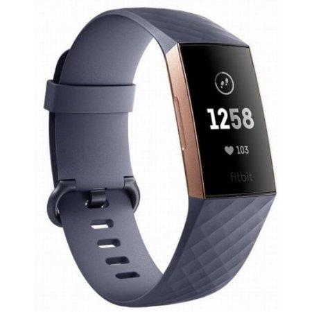 Fitbit - Charge 3 Fb409rggy-eu Grigio-blu