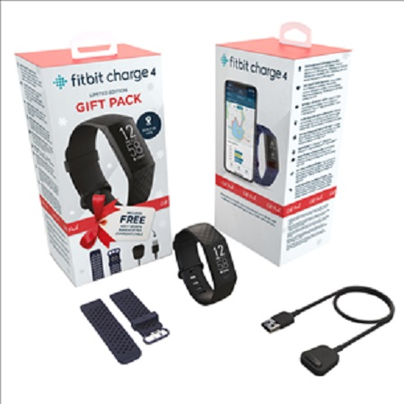 Fitbit - Charge 4 Xmas Bundle
