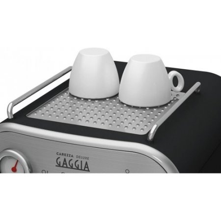Gaggia Macchina caffe' espresso - Carezza Deluxe Ri8525/01  Silver-nero