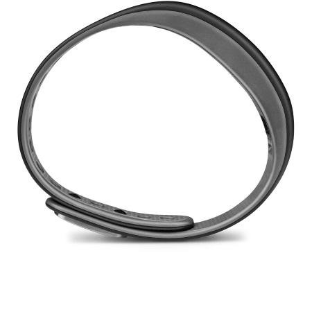 Garmin - Vivosmart Slate Grey Size Large