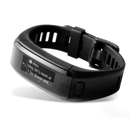 Garmin Smartwatch e fitness band Bluetooth - Vivosmart HR Black Taglia Regular