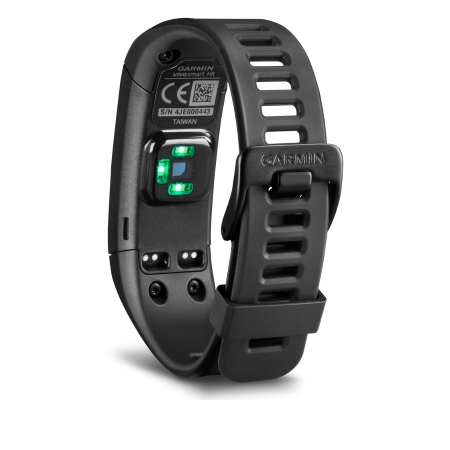 Garmin Smartwatch e fitness band Bluetooth - Vivosmart HR Black Taglia Regular