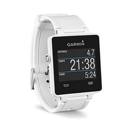 Garmin - Vívoactive Bianco + Fascia Cardio Premium