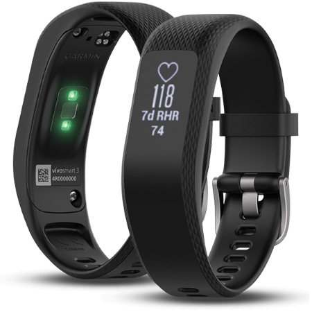 Garmin - 0100175500 Vivosmart 3 Regular