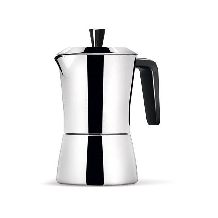 CAFFETTIERA TUA 6/3 TZ NERO
