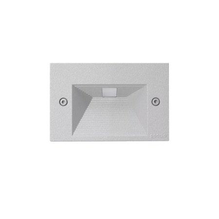 Goccia Illuminazione - Quantum 3 Moduli Maschera Alluminio Grigio Metallizzato