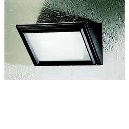 Goccia Illuminazione Lampada da parete per esterni (l: 20,7cm) - Small Senza Griglia 60w Nera
