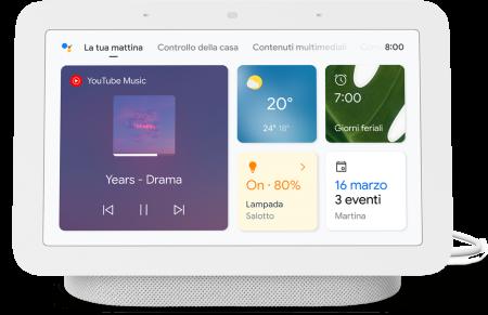 Google Nest Hub (2°generazione) C3 Chalk