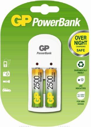 Gp. Battery M.it.  - Gppb360gsw250-c2 pacco batterie +2 AA 2500MHA