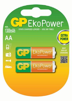 Gp. Battery M.it.  - Gp100aahcb-uc2 BATTERIE RECYKO AA BL.2 1000MHA