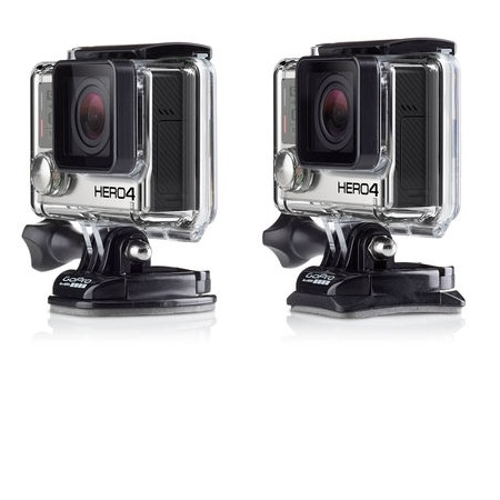 Gopro 3 Basi per GoPro - Flat And Curved Adhesive Mount