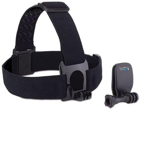 Gopro Fascia per la testa e QuickClip per videocamera GoPro - Head Strap + QuickClip DK00150085