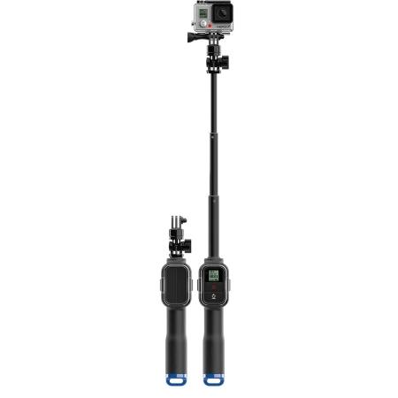 """Gopro Asta telescopica per GoPro, con alloggio per telecomando - Impugnatura Telescopica Sp Remote Pole 23"""""""