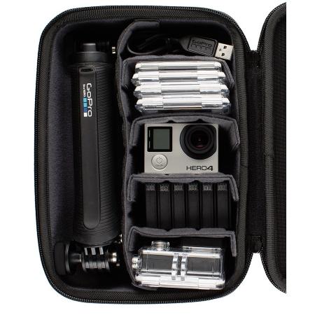 Gopro Custodia per GoPro con ampio vano accessori - Custodia Casey per Gopro