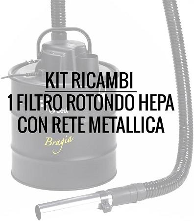 Trevidea - Asp431 Filtro HEPA con Rete Metallica