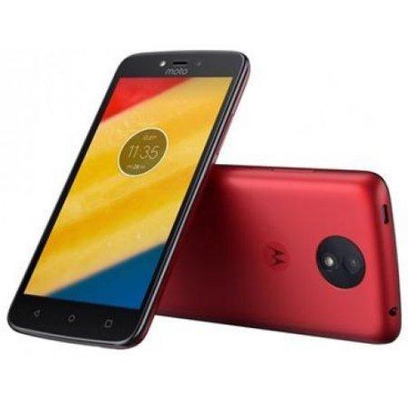 Motorola Smartphone 16 gb ram 1 gb quadband - Moto C4 Plusrosso