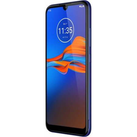 Motorola Smartphone 32 gb ram 2 gb. quadband - Moto E6 Plus Caribbean Blue