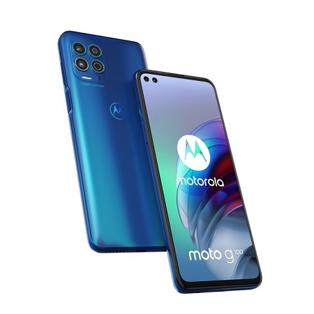 Motorola So. compatibile android 11 - Motorola G100 Blue
