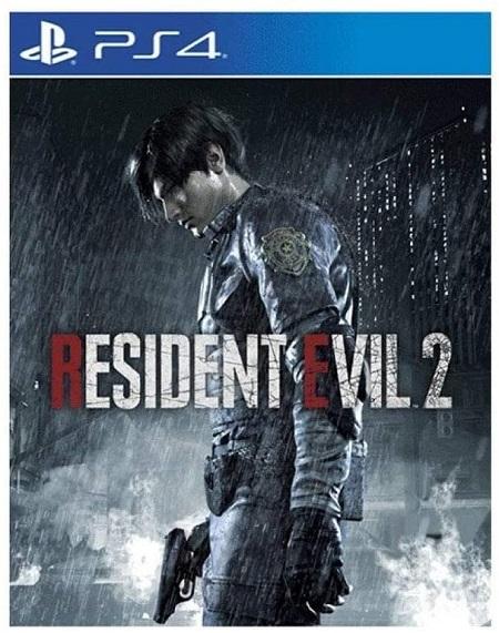 PS4 RESIDENT EVIL 2 LENTICULAR ED. Resident Evil 2 Lenticular Edition