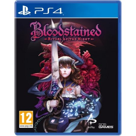 Halifax Gioco adatto modello ps 4 - Ps4 Bloodstained Ritual Of The Night