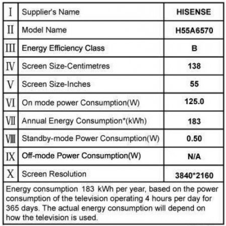 Hisense - H55a6570
