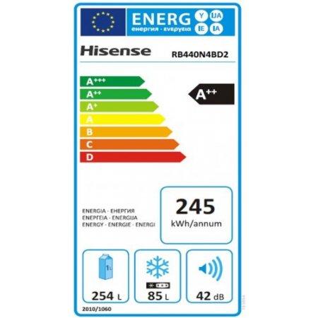 Hisense Frigo combinato 2 porte no frost - Rb440n4bd2