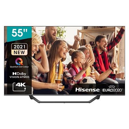 "Hisense QLED 55"" Quantum Dot Dolby Vision Smart Tv"