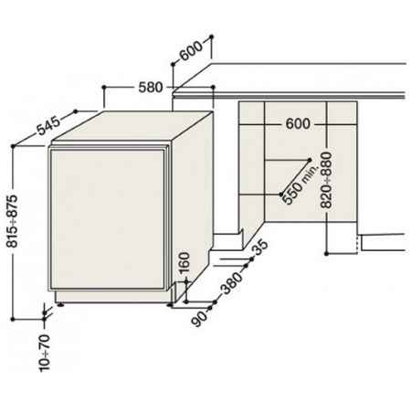 Hotpoint Monoporta da incasso - Ariston - BTS 1622