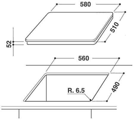 Hotpoint Piano cottura a induzione - Ariston - Ikia 640 F