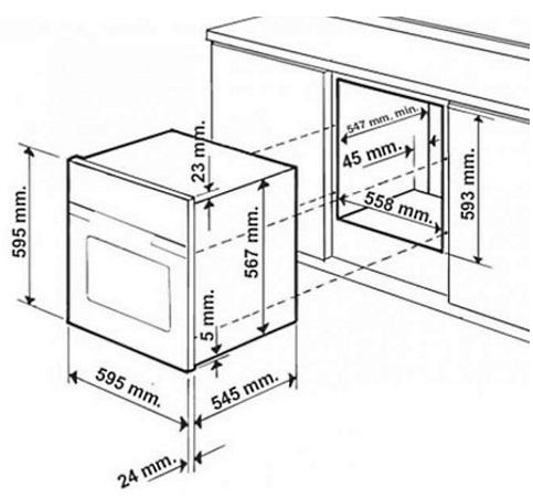 Hotpoint Forno eletttrico Multifunzione ad incasso - Ariston - FT850.1(RAME)/HA S