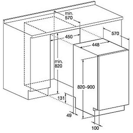 Hotpoint Lavastoviglie Slim da incasso - ariston - Lstf 9m124 C Eu