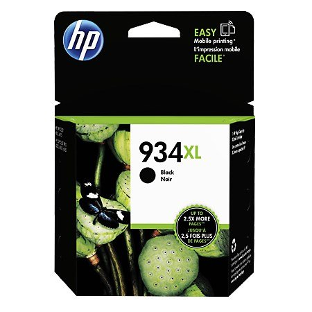 Hewlett Packard Cartuccia XL per stampanti HP - 934xl Black Ink