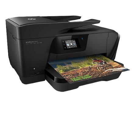 Hp Stampante InkJet a colori Multifunzione - Officejet 7510